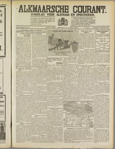 Alkmaarsche Courant 1941-09-13