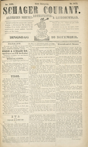 Schager Courant 1881-12-20