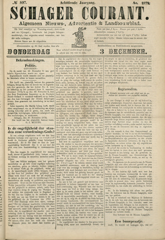 Schager Courant 1874-12-03