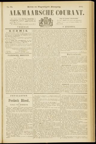 Alkmaarsche Courant 1895-08-09