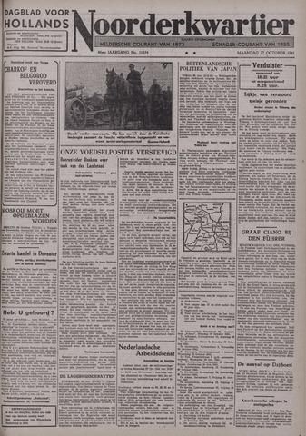 Dagblad voor Hollands Noorderkwartier 1941-10-27