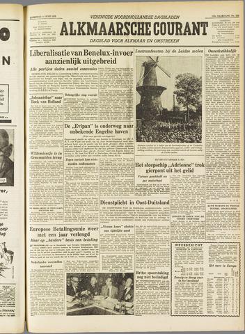 Alkmaarsche Courant 1955-06-11