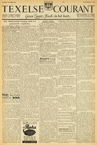 Texelsche Courant 1952-11-01