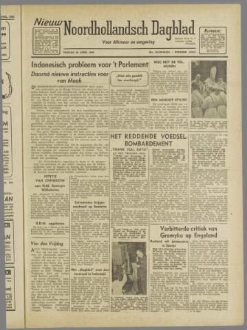Nieuw Noordhollandsch Dagblad : voor Alkmaar en omgeving 1946-04-26