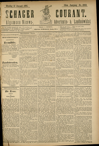 Schager Courant 1895-01-15