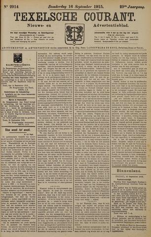 Texelsche Courant 1915-09-16