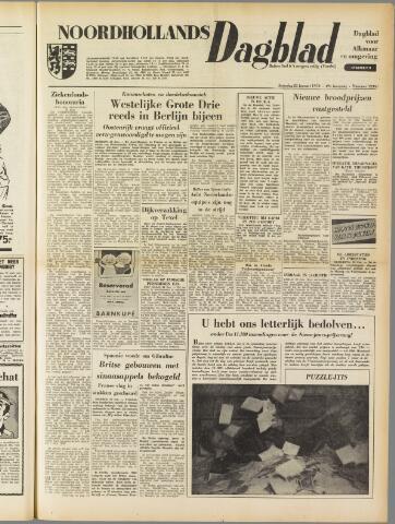 Noordhollands Dagblad : dagblad voor Alkmaar en omgeving 1954-01-23