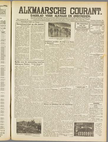 Alkmaarsche Courant 1941-12-03