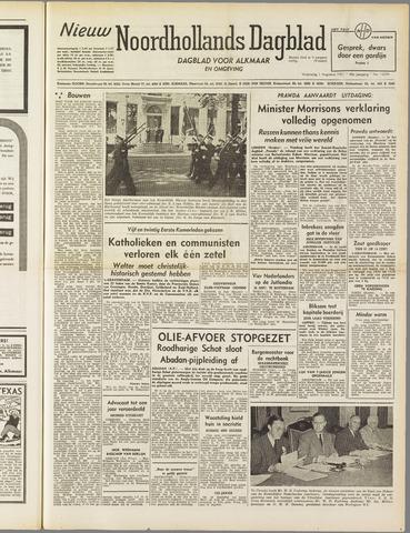 Nieuw Noordhollandsch Dagblad : voor Alkmaar en omgeving 1951-08-01