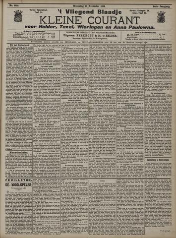 Vliegend blaadje : nieuws- en advertentiebode voor Den Helder 1906-11-28