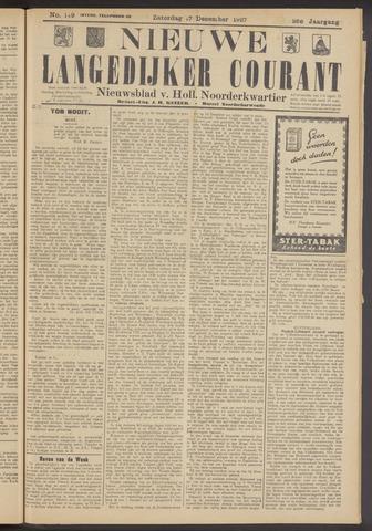 Nieuwe Langedijker Courant 1927-12-17