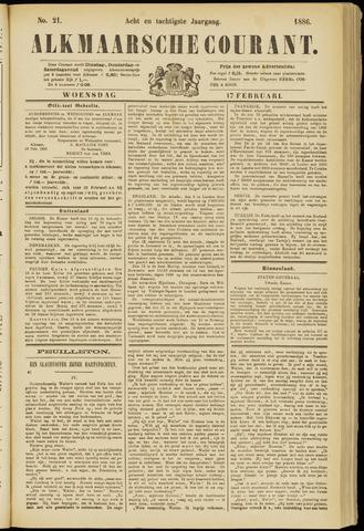 Alkmaarsche Courant 1886-02-17