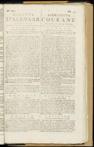 Alkmaarsche Courant 1811-08-19