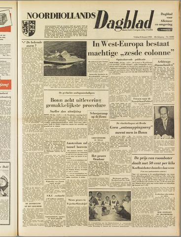 Noordhollands Dagblad : dagblad voor Alkmaar en omgeving 1953-01-23