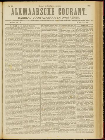 Alkmaarsche Courant 1918-10-23