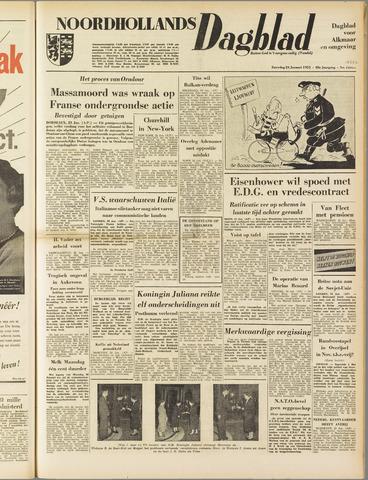 Noordhollands Dagblad : dagblad voor Alkmaar en omgeving 1953-01-24