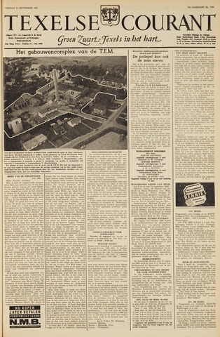 Texelsche Courant 1963-09-13