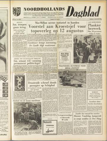 Noordhollands Dagblad : dagblad voor Alkmaar en omgeving 1958-08-01