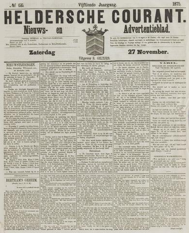 Heldersche Courant 1875-11-27