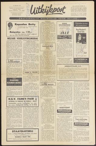 Uitkijkpost : nieuwsblad voor Heiloo e.o. 1970-02-25