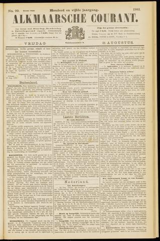 Alkmaarsche Courant 1903-08-21