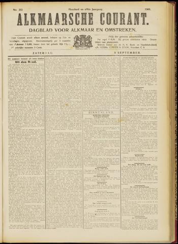 Alkmaarsche Courant 1909-09-11