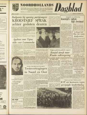 Noordhollands Dagblad : dagblad voor Alkmaar en omgeving 1961-10-17