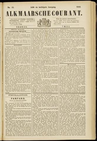 Alkmaarsche Courant 1886-05-07