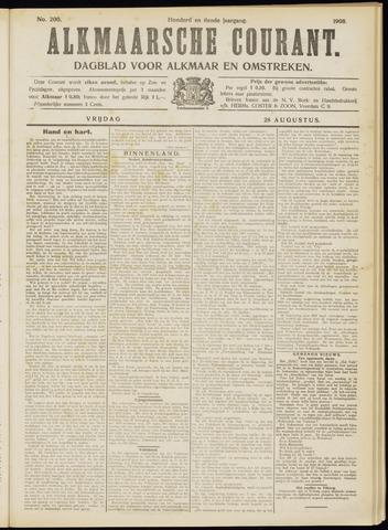 Alkmaarsche Courant 1908-08-28