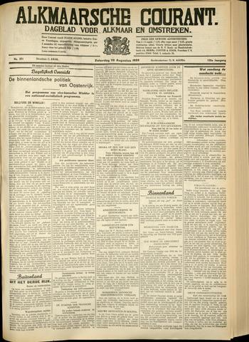 Alkmaarsche Courant 1933-08-26