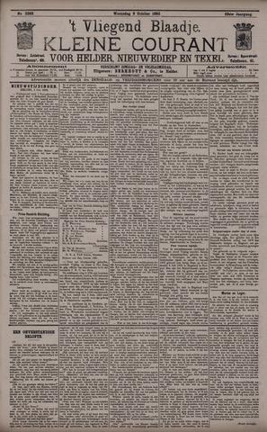 Vliegend blaadje : nieuws- en advertentiebode voor Den Helder 1895-10-09
