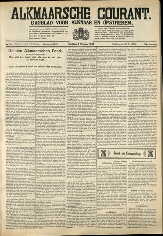 Alkmaarsche Courant 1937-10-08