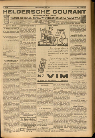 Heldersche Courant 1924-03-22