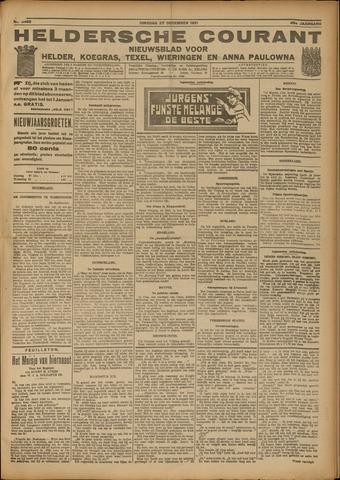 Heldersche Courant 1921-12-27