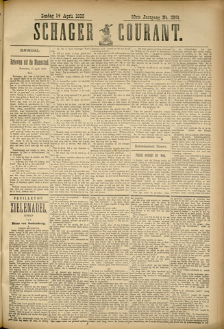 Schager Courant 1895-04-14