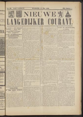 Nieuwe Langedijker Courant 1923-05-23