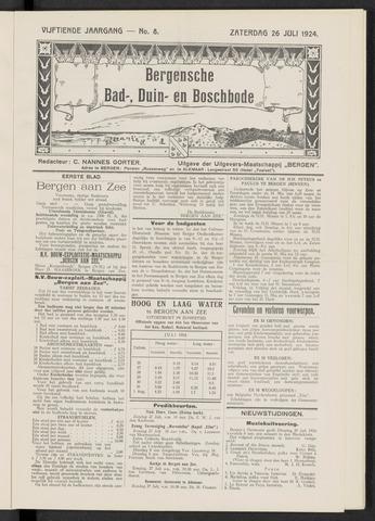 Bergensche bad-, duin- en boschbode 1924-07-26