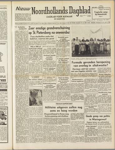 Nieuw Noordhollandsch Dagblad : voor Alkmaar en omgeving 1951-07-24