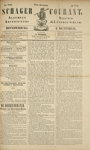 Schager Courant 1883-10-04