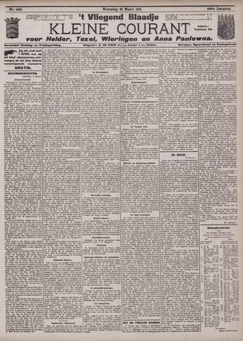 Vliegend blaadje : nieuws- en advertentiebode voor Den Helder 1912-03-20