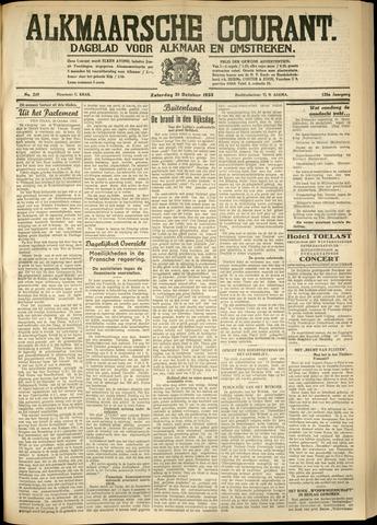 Alkmaarsche Courant 1933-10-21