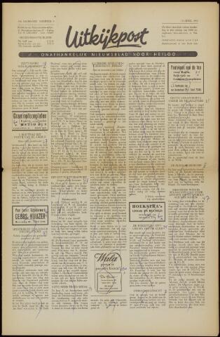Uitkijkpost : nieuwsblad voor Heiloo e.o. 1958-04-04