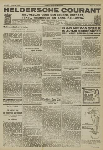 Heldersche Courant 1930-10-14