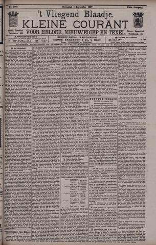 Vliegend blaadje : nieuws- en advertentiebode voor Den Helder 1897-09-01