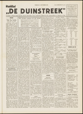 De Duinstreek 1953-10-16