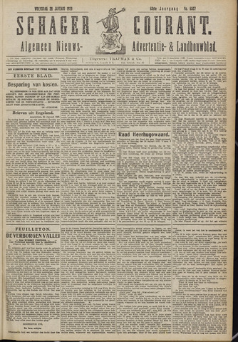 Schager Courant 1920-01-28