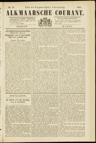 Alkmaarsche Courant 1889-06-16