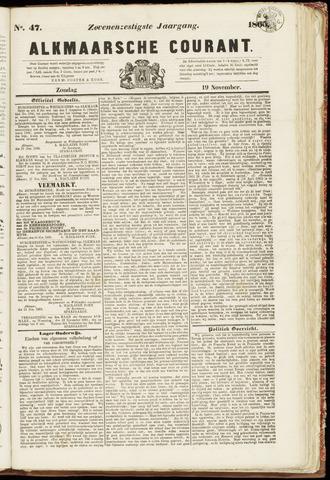 Alkmaarsche Courant 1865-11-19