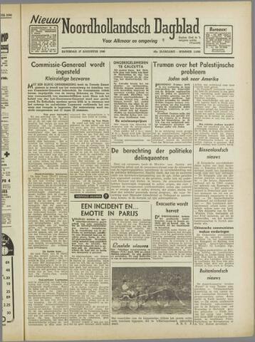 Nieuw Noordhollandsch Dagblad : voor Alkmaar en omgeving 1946-08-17