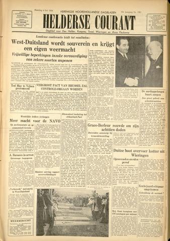 Heldersche Courant 1954-10-04